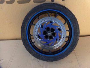 """Jante roue avant 17"""" Derbi gpr 50 / Aprilia rs 50 2010 2017"""